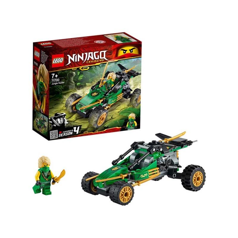 LEGO Ninjago - Fuori Strada Della Giungla - Lego - MazzeoGiocattoli.it