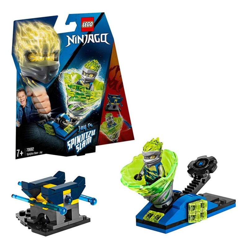 LEGO Ninjago - Gioco Per Bambini Slam Spinjitzu Jay - Lego  - MazzeoGiocattoli.it