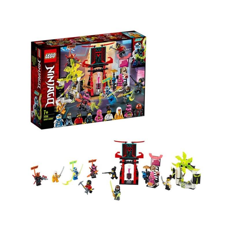 LEGO Ninjago - Il Mercato Dei Ninja Gamers - Lego  - MazzeoGiocattoli.it