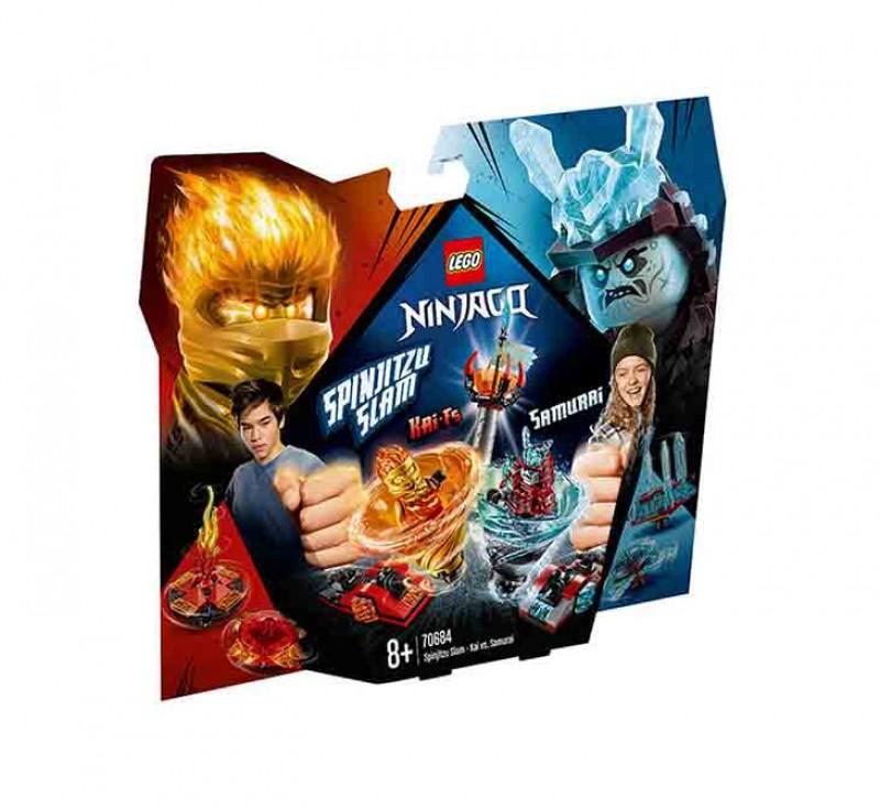 Lego Ninjago - Slam Spinjitzu - Kai Vs. Samurai - Lego - MazzeoGiocattoli.it
