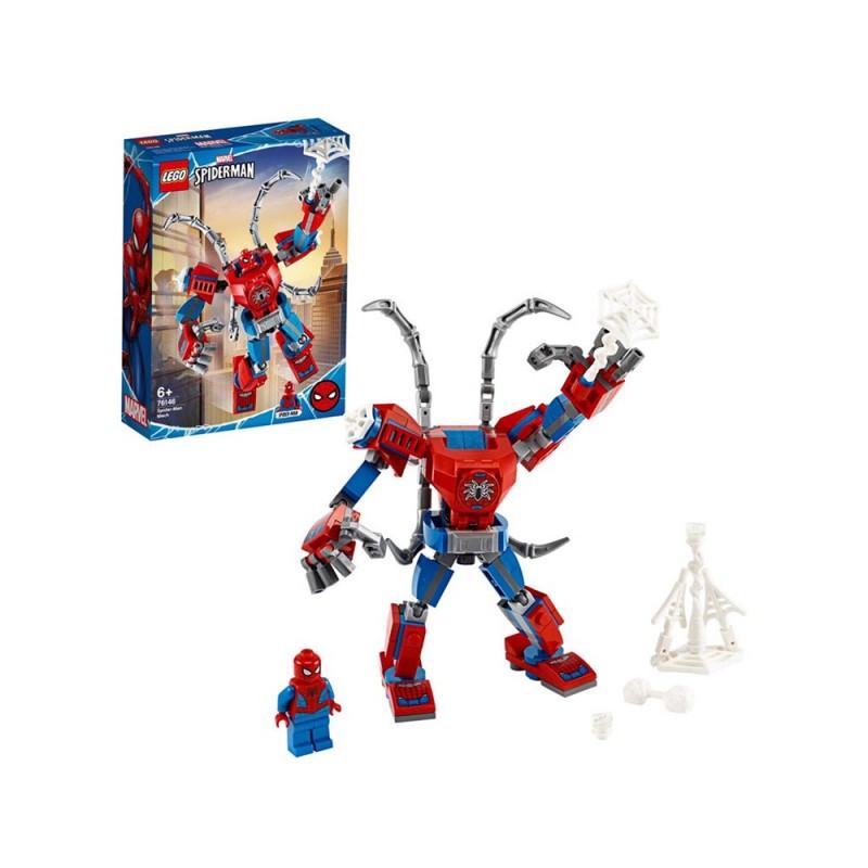 LEGO Super Heroes - Il Mech Di Spider-Man - Lego  - MazzeoGiocattoli.it