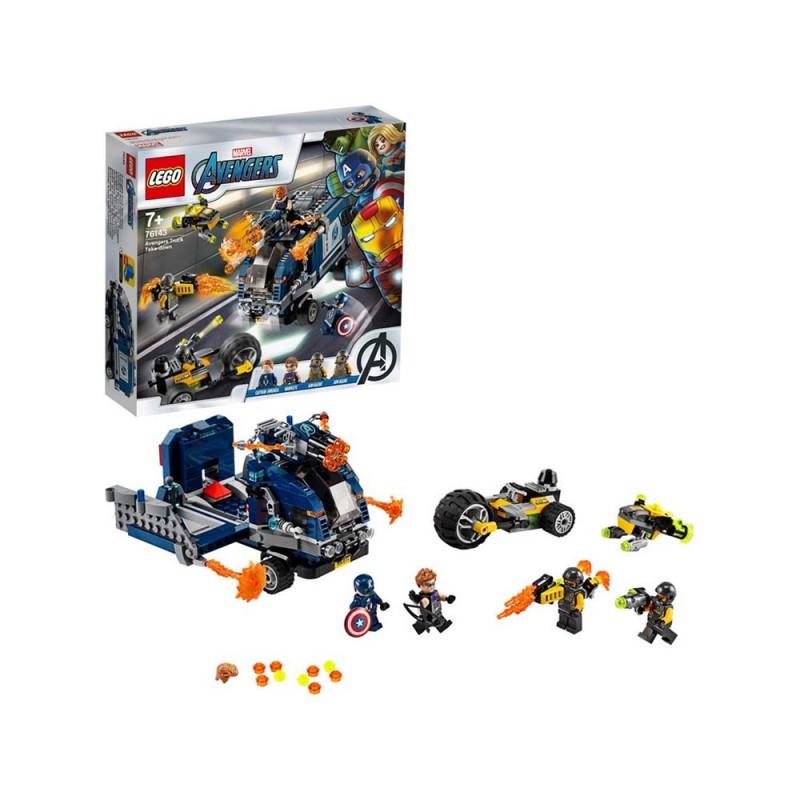 LEGO Super Heroes - L'Attacco Del Camion - Lego  - MazzeoGiocattoli.it