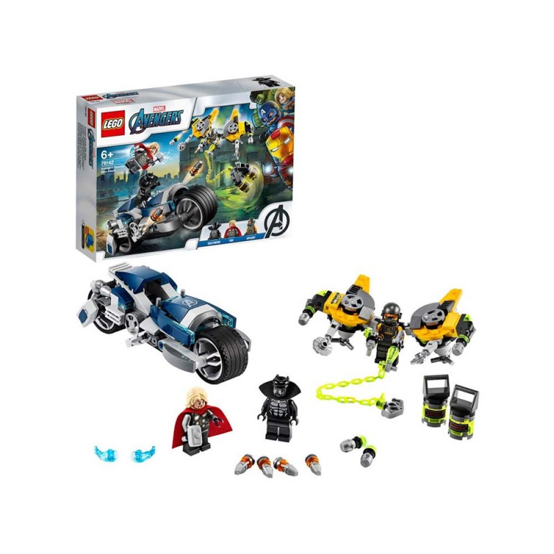 LEGO Super Heroes - L'Attacco Della Speeder Bike Marvel Avengers - Lego  - MazzeoGiocattoli.it