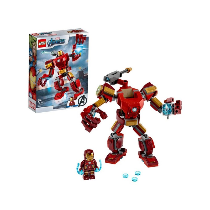 LEGO Super Heroes Avengers - Iron Man Mech - Lego - MazzeoGiocattoli.it