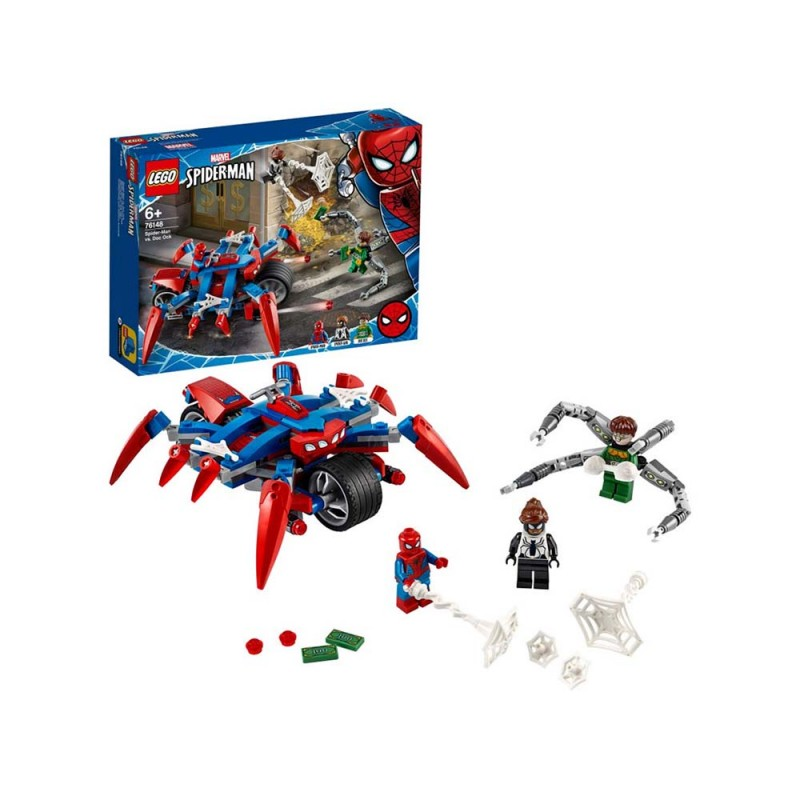 LEGO Super Heroes Spider-Man Vs. Doc Ock - Lego - MazzeoGiocattoli.it