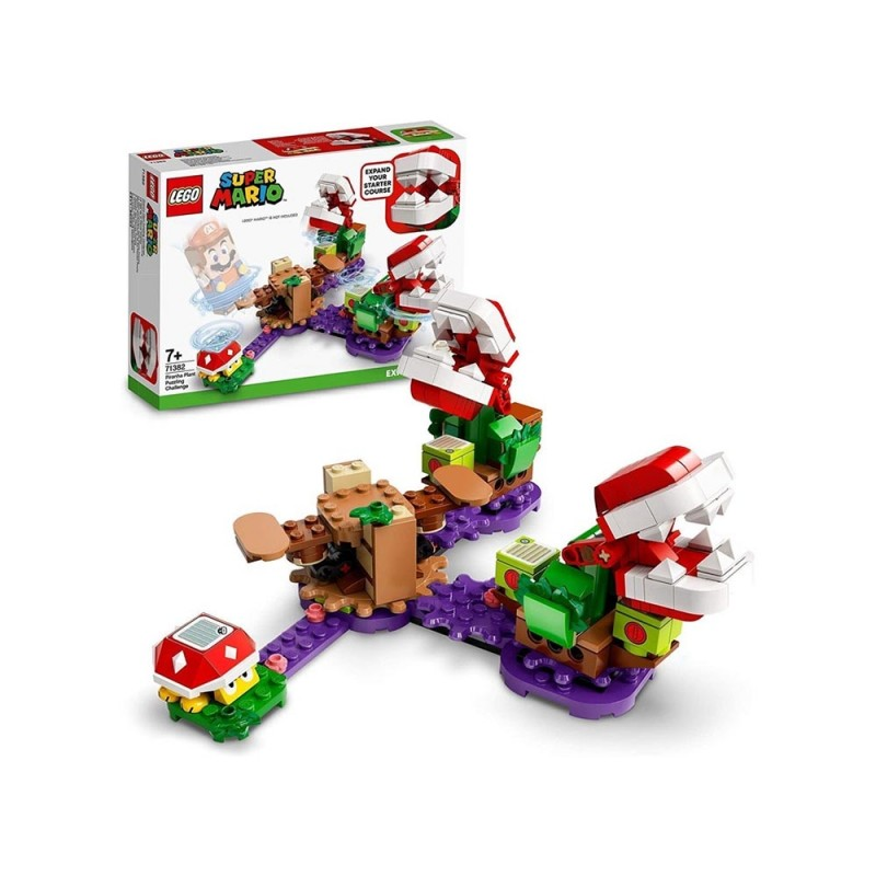 Lego Super Mario - La Sfida Rompicapo Della Pianta Piranha - Pack Di Espansione - Lego  - MazzeoGiocattoli.it