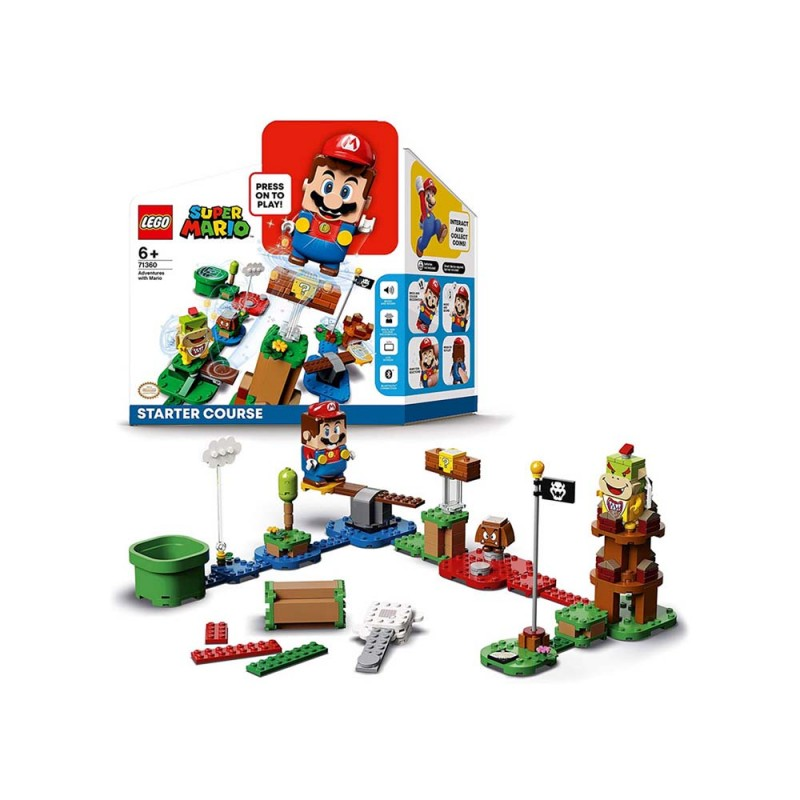 Lego Super Mario - Starter Course - MazzeoGiocattoli.it