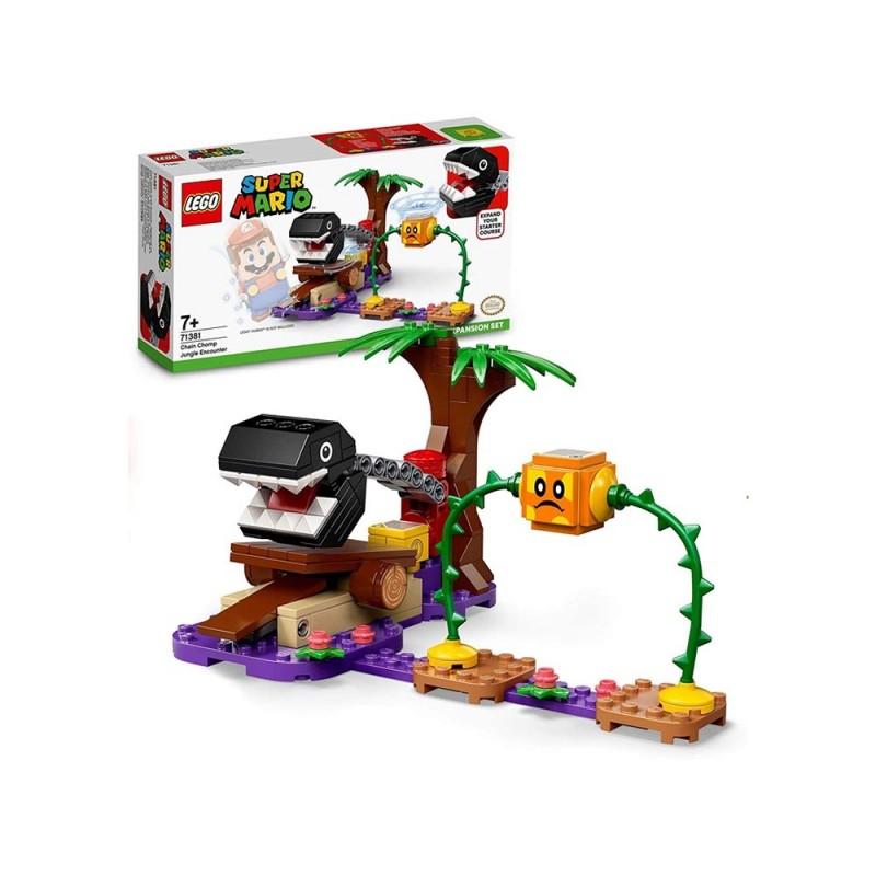 Lego Super Mario Incontro Nella Giungla Di Categnaccio - Pack Di Espansione - Lego  - MazzeoGiocattoli.it