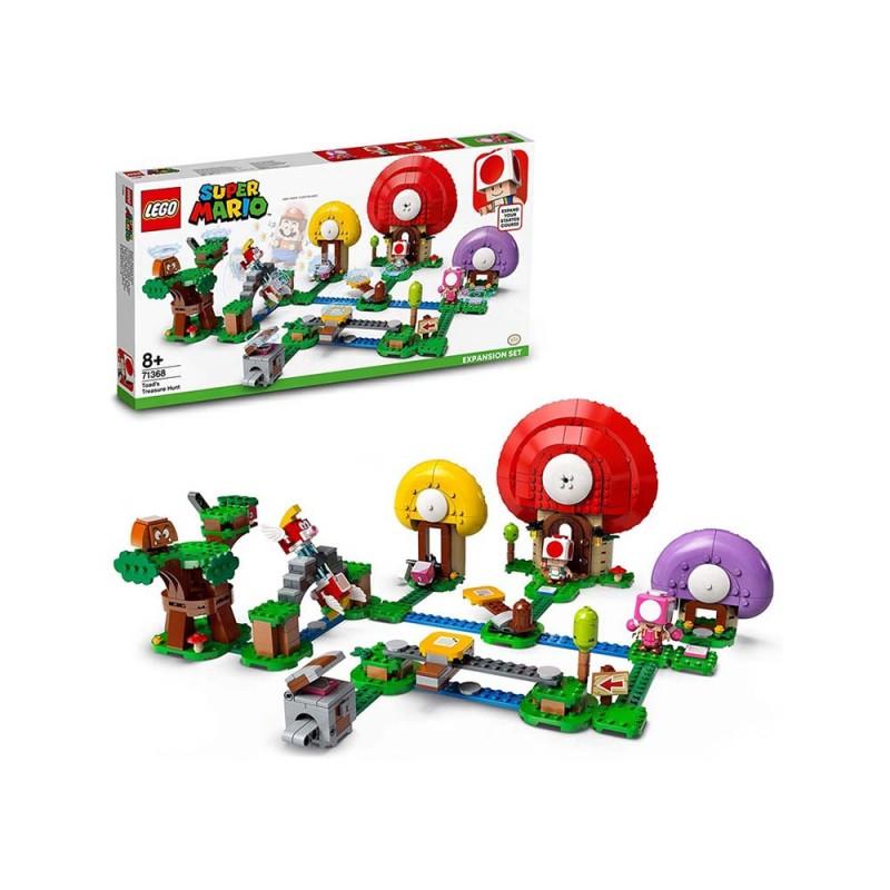 Lego Super Mario La Caccia Al Tesoro Di Toad-Pack Di Espansione - Lego  - MazzeoGiocattoli.it