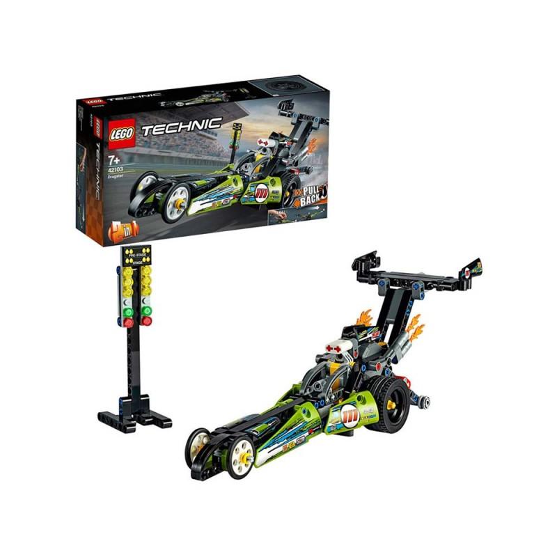 LEGO Technic - Dragster Con Tecnologia PullBack - Lego - MazzeoGiocattoli.it