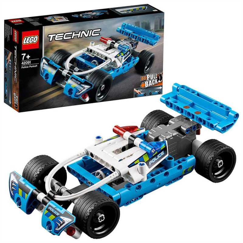Lego Technic - Inseguimento Della Polizia - 42091 - MazzeoGiocattoli.it