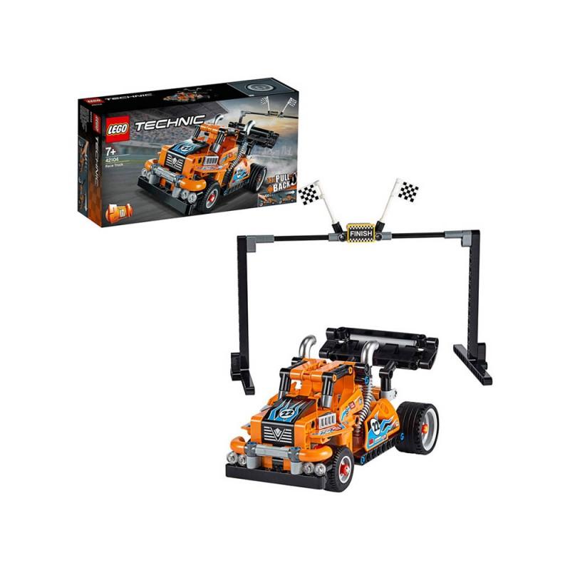LEGO Technic Camion Da Gara Con Tecnologia Pullback - Lego  - MazzeoGiocattoli.it