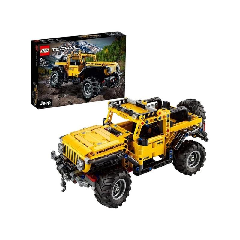 Lego Technic Jeep Wrangler 4x4 - Lego  - MazzeoGiocattoli.it