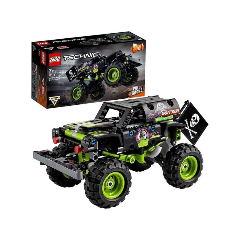 Lego Technic Monster Jam Grave Digger - Lego  - MazzeoGiocattoli.it