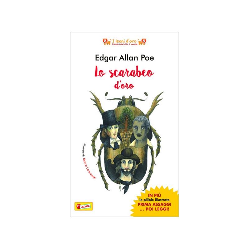 Leoni D'Oro Edgar Allan Poe - Lo Scarabeo D'Oro - Lisciani  - MazzeoGiocattoli.it