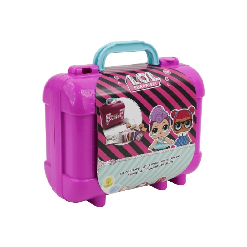 Lol Surprise Valigetta Travel Kit Con Timbri - MazzeoGiocattoli.it