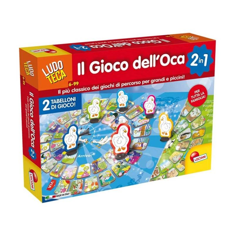 Ludoteca Gioco Dell'Oca - Lisciani  - MazzeoGiocattoli.it