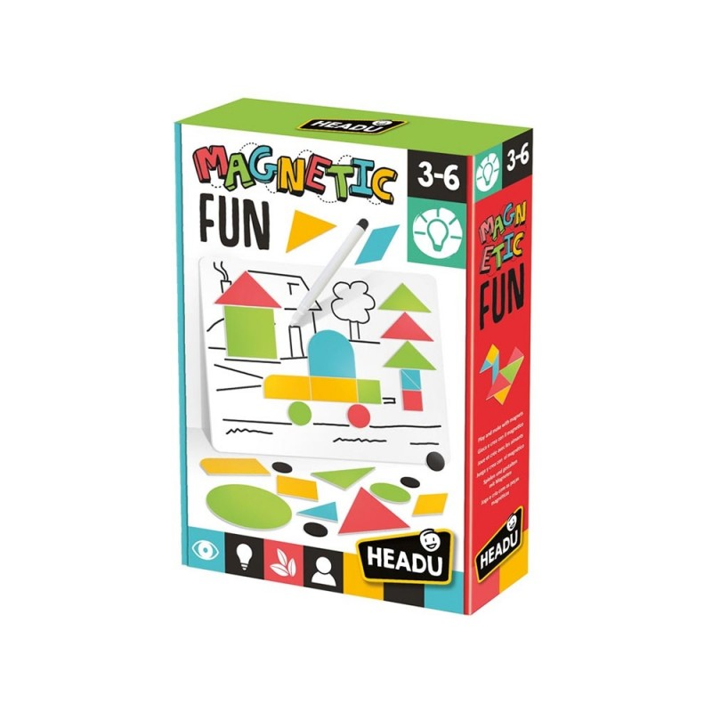 Magnetic Fun - Headu - MazzeoGiocattoli.it