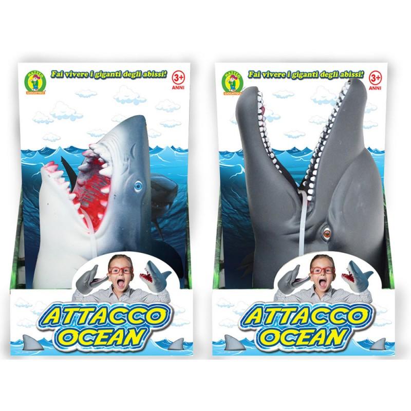 Marionetta Attacco Ocean - Mazzeo Giocattoli - MazzeoGiocattoli.it