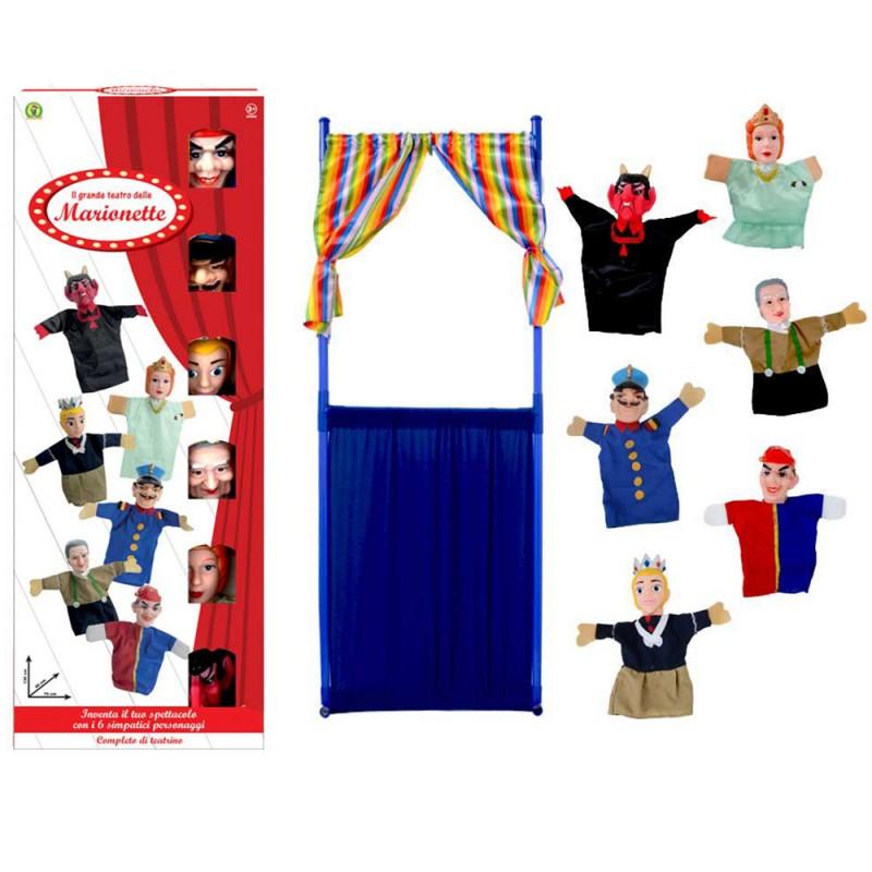 Marionette - Il Grande Teatro Delle Marionette - Mazzeo Giocattoli - MazzeoGiocattoli.it