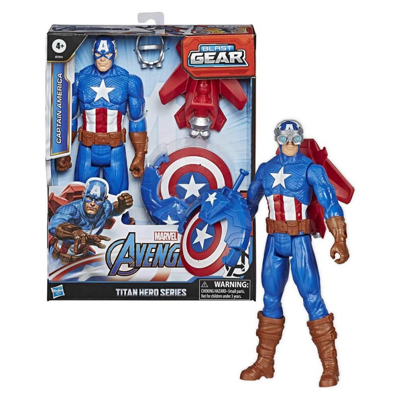 Marvel Legends Avengers Capitan America - Hasbro - MazzeoGiocattoli.it