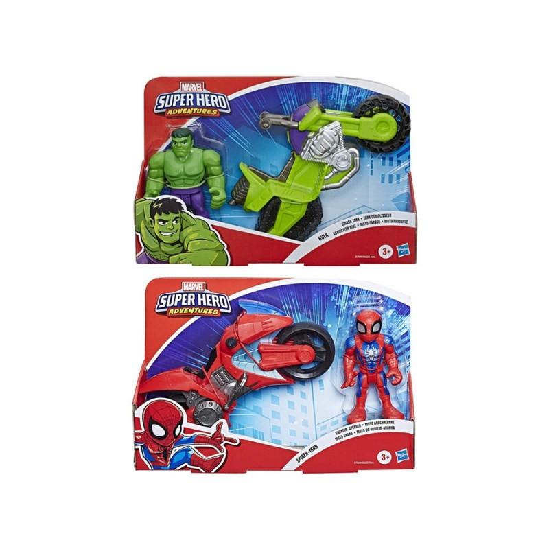 Marvel Super Hero Adventures Moto - Hasbro  - MazzeoGiocattoli.it