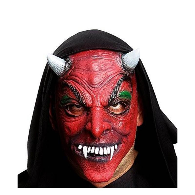 Maschera Diavolo  In Gomma - MazzeoGiocattoli.it