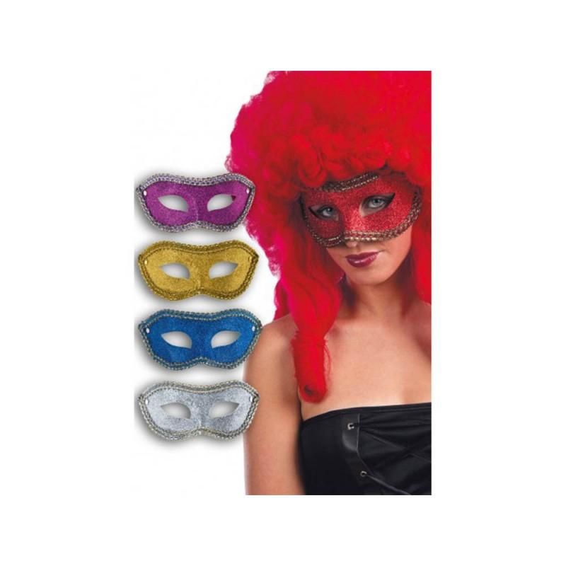 Maschera Tessuto Glitter  - MazzeoGiocattoli.it