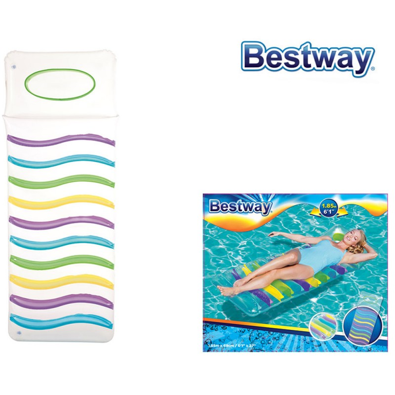 Materassino Comfort Multicolore - Bestway  - MazzeoGiocattoli.it