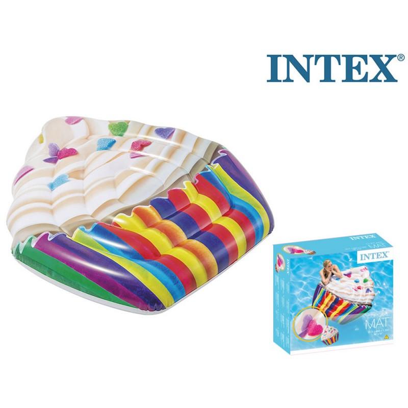 Gonfiabile Mare Cupcake 142cm - Intex  - MazzeoGiocattoli.it