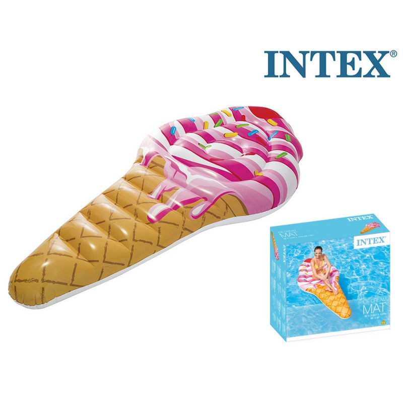 Materassino Mare Gelato 224cm - Intex - MazzeoGiocattoli.it