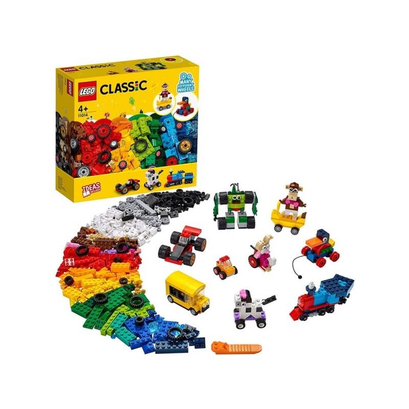 Mattoncini E Ruote - Lego Classic  - MazzeoGiocattoli.it