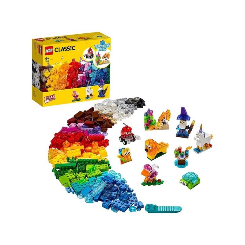 Mattoncini Trasparenti Creativi - Lego Classic  - MazzeoGiocattoli.it