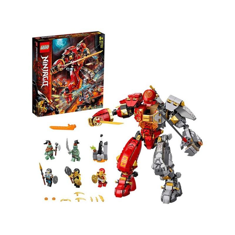 Mech Pietra-Fuoco - Lego Ninjago - MazzeoGiocattoli.it