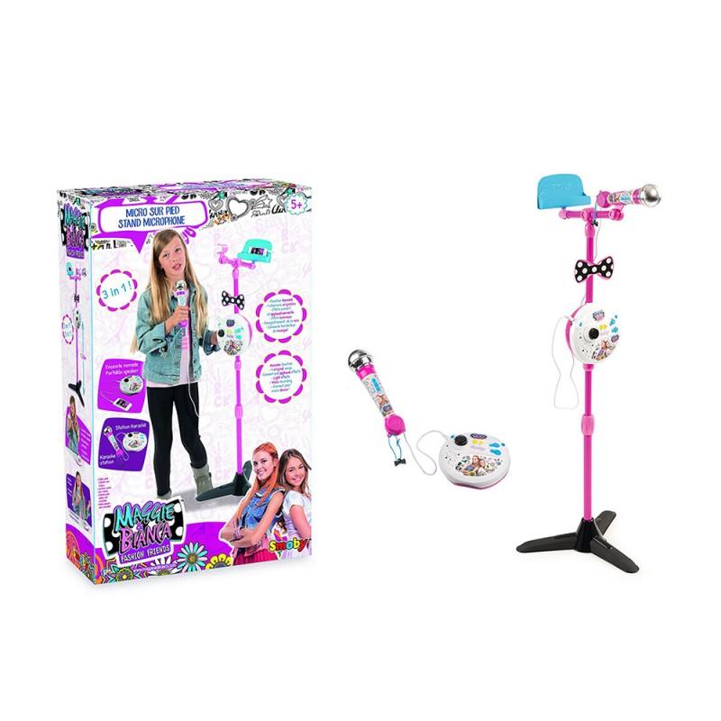 Microfono Karaoke Maggie & Bianca - Smoby  - MazzeoGiocattoli.it