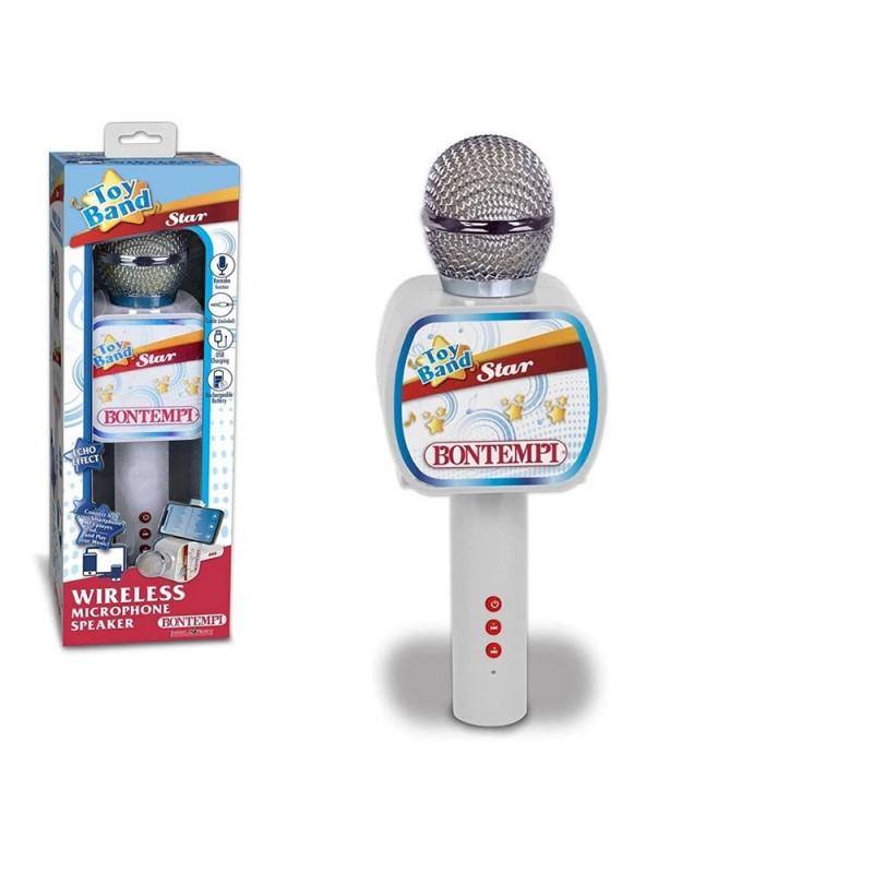 Microfono Wireless Con Altoparlante - Bontempi  - MazzeoGiocattoli.it