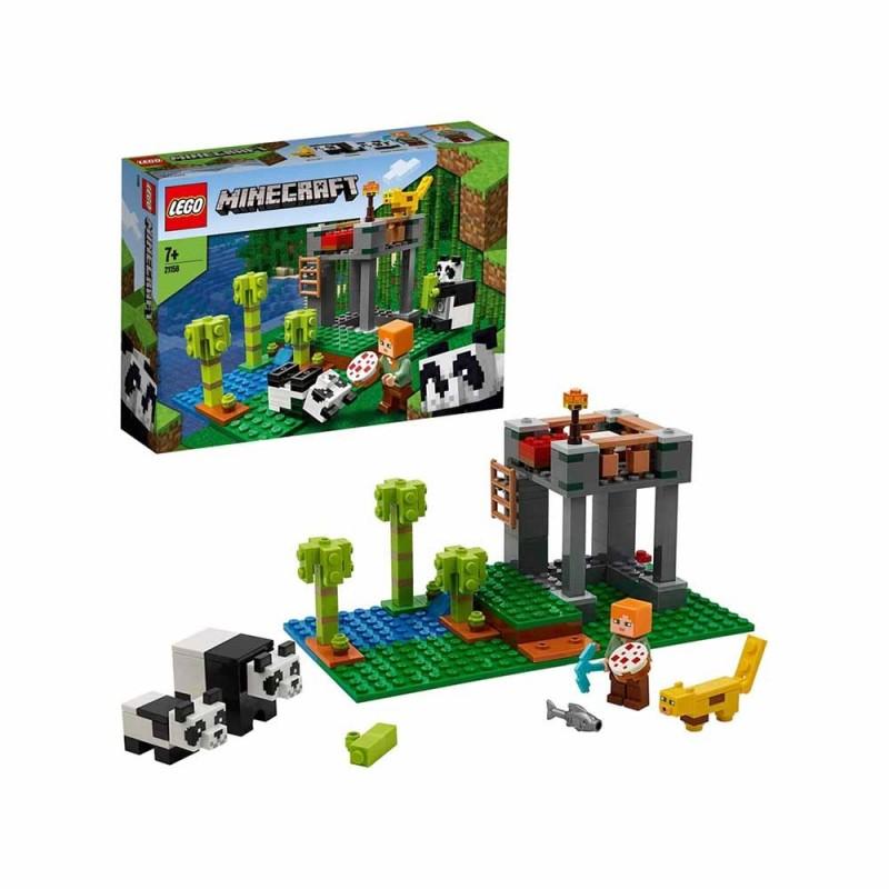 Minecraft L'Allevamento Di Panda - Lego - MazzeoGiocattoli.it
