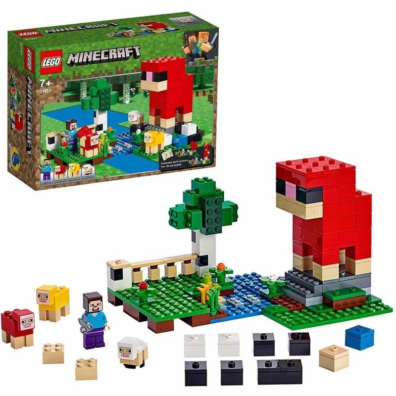 Minecraft La Fattoria D-Lana - Lego - MazzeoGiocattoli.it