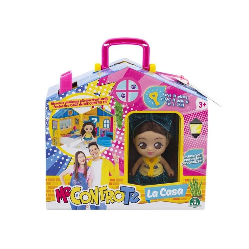 Mini Doll 12 Cm Sofi Con Casa Me Contro Te - Giochi Preziosi - MazzeoGiocattoli.it