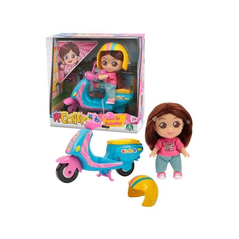 Mini Doll 12 Cm Sofi In Scooter Me Contro Te - Giochi Preziosi  - MazzeoGiocattoli.it