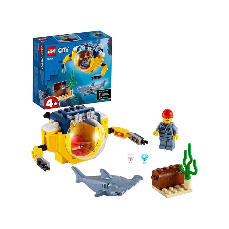 Mini Sottomarino Oceanico - Lego City  - MazzeoGiocattoli.it