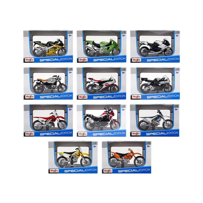 Modellini Motociclette 1/18 - Maisto - MazzeoGiocattoli.it