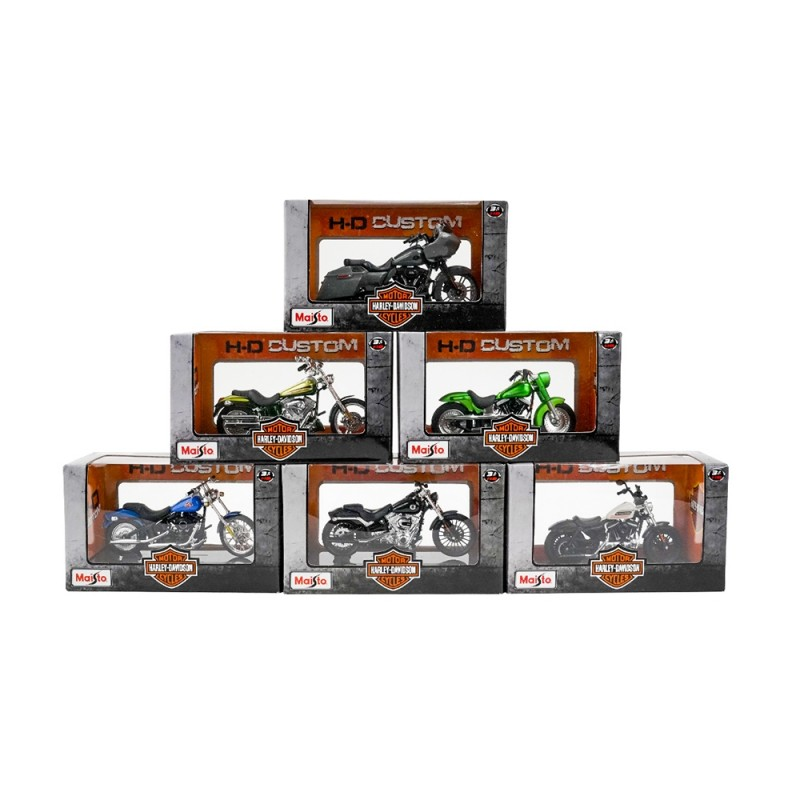 Modellini Motociclette Harley Davidson 1/18 - Maisto  - MazzeoGiocattoli.it