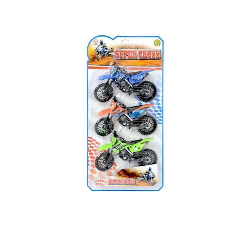 Modellini Statici Motocross In Blister - Mazzeo Giocattoli - MazzeoGiocattoli.it