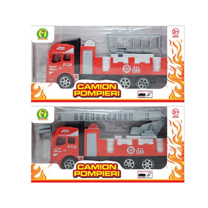 Modellino Camion Pompieri - Mazzeo Giocattoli  - MazzeoGiocattoli.it