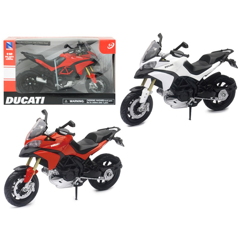 Modellino Moto Ducati Multistrada 1200S  1:12 - Newray - MazzeoGiocattoli.it