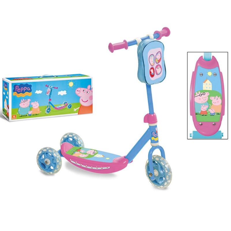 Monopattino Peppa Pig My First Scooter - Mondo - MazzeoGiocattoli.it