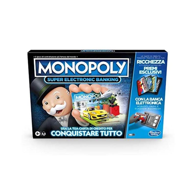 Monopoly Super Electronic Banking - Hasbro - MazzeoGiocattoli.it