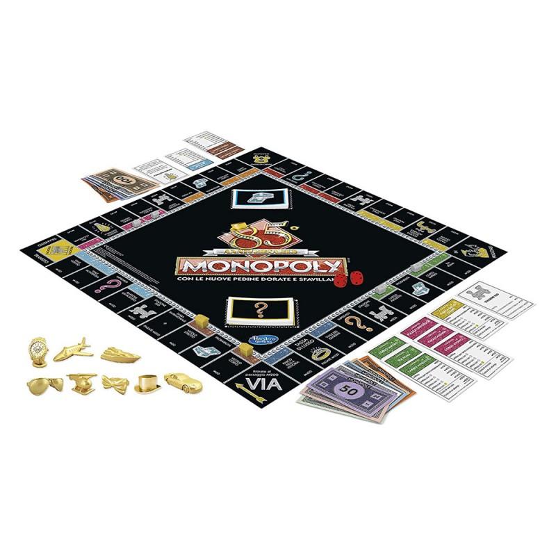 Monopoly 85° Anniversario - Hasbro  - MazzeoGiocattoli.it