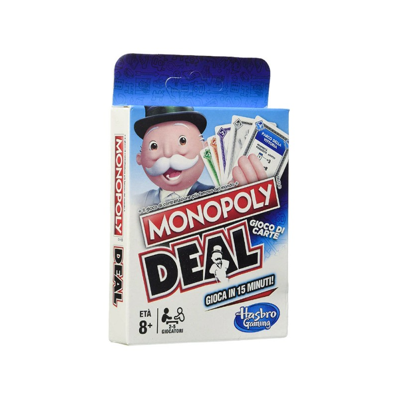 Monopoly Deal - Hasbro  - MazzeoGiocattoli.it